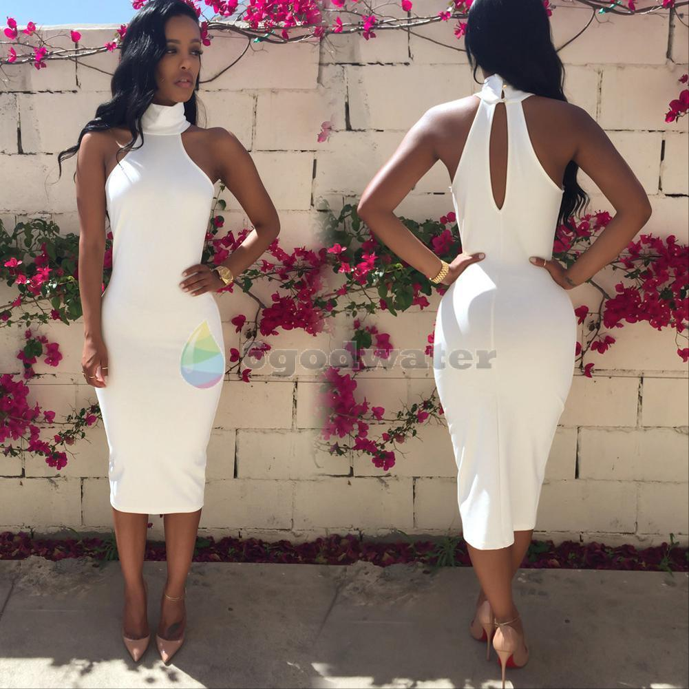White Bodycon Dress | Small